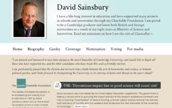 Lord Sainsbury thumbnail image