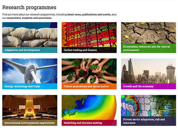 Showcasing climate change research image