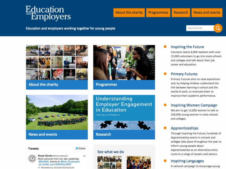 Helping bring employers and schools together image