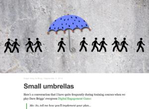 Small umbrellas thumbnail image