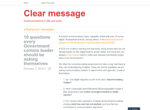 10 questions every Government comms leader should be asking themselves thumbnail image