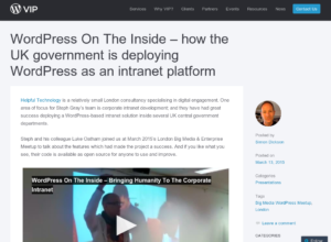 WordPress On The Inside thumbnail image
