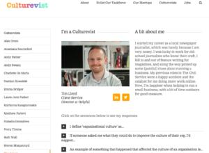 Culturevist – Tim Lloyd thumbnail image