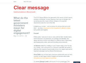 What do the latest UK government ministers mean for digital engagement? thumbnail image