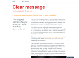 The digital comms team: a warm, safe blanket thumbnail image