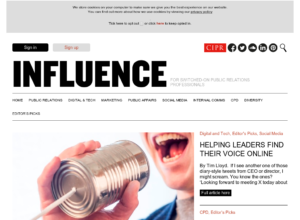 Helping leaders find their voice online thumbnail image