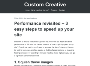 3 easy steps to speed up your site thumbnail image