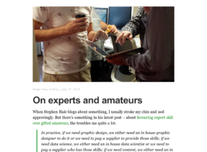 On experts and amateurs thumbnail image