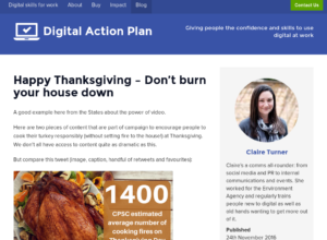 Happy Thanksgiving – Don't burn your house down thumbnail image