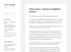 What does 'advanced digital' mean? thumbnail image