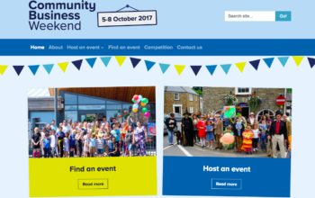 Helping people get involved with Community Business Weekend thumbnail image