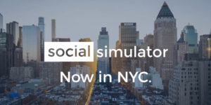 Social Simulator: now in New York City thumbnail image