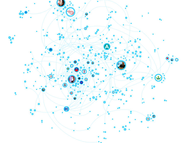 Mapping social media audiences for a regulator image
