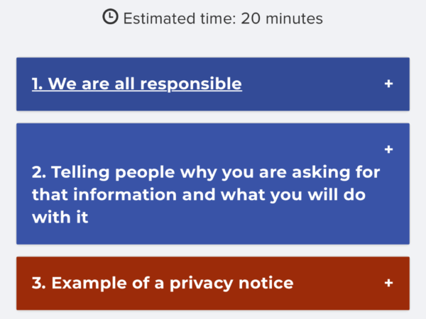 Staff training for data protection thumbnail image