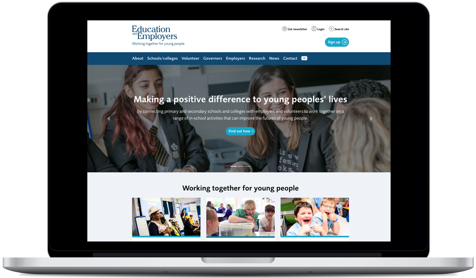 Joining up Education & Employers' schools programmes