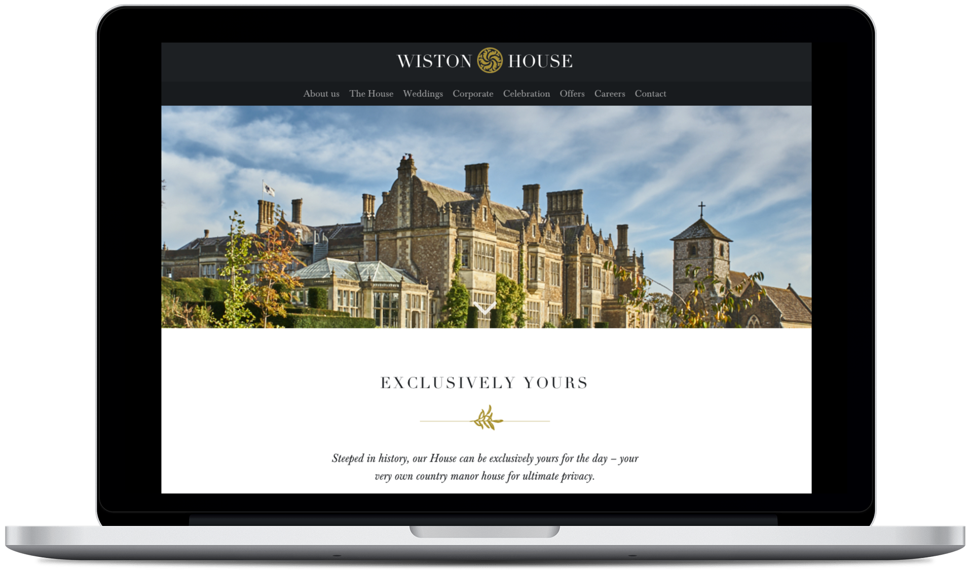 Helping Wiston House attract premium wedding business