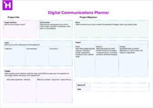 Digital Communications Planner